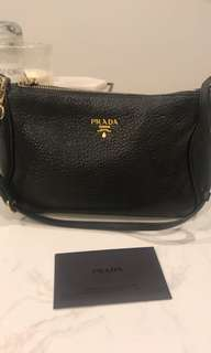 Authentic Prada mini clutch/bag
