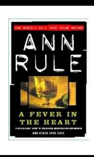 🚚 Ann Rule's 5 True Cases Novels