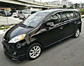 Perodua Alza EZI 2011 auto sambung bayar