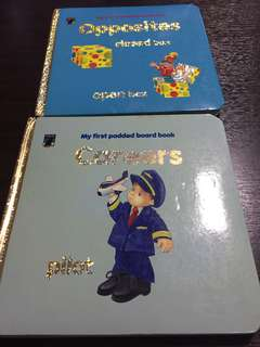 My first padded board book