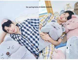 Wanna One Kang Daniel 姜丹尼爾 代言 Spring Home 睡衣