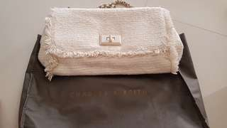 SALE Charles&keith white bags
