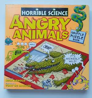 [Horrible Science] Angry Animals - Shuffle Puzzle Book
