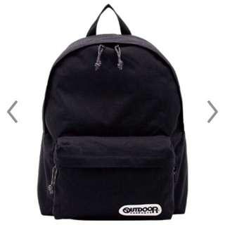 Outdoor黑色後背包OD452UBK