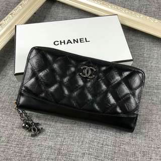 inspired chanel lady purse/ wallet