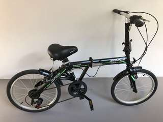 Aleoca Foldable Adult Bicycle