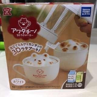 咖啡唧花用具