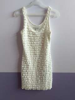 Forever21 White Bodycon Dress