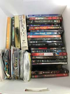 Bundle of dvd