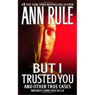 🚚 Ann Rule's 4 True Cases Novels