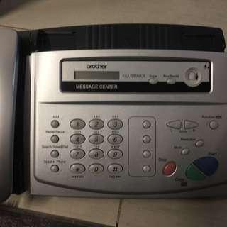 新淨 Brother Fax機 家居電話 FAX-335MCS