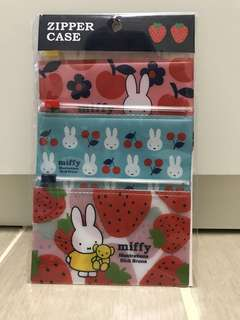 售: Miffy zipper case
