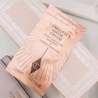 Charlotte tilbury • charlotte's magic cream instant turn around moisturizer sample • add on