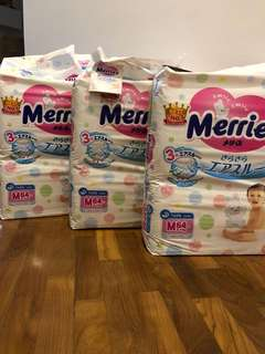 Merries M size diapers