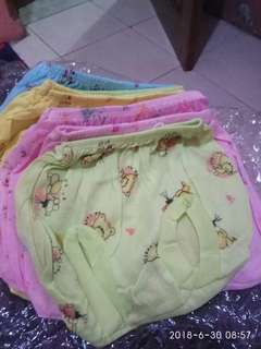 Celana pop bayi colorful