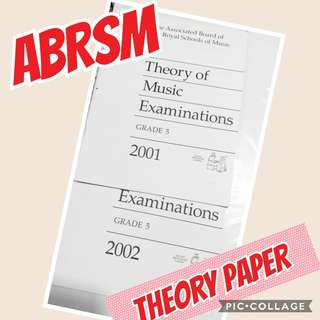 ABRSM Grade 5 Theory Exam Papers