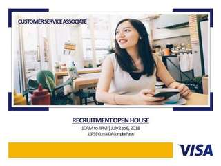 Visa Customer Service Associates