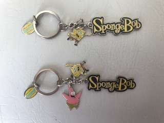 SpongeBob Keyring Dreamworld Original NEW
