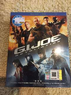 GI Joe Retaliation original blu ray disc