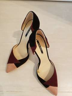 Brand New Tri colour Zara heels