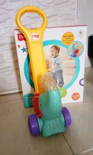 Fisher Price Push Elephant Toy and  Phone