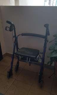 elderly walker/ walking aide
