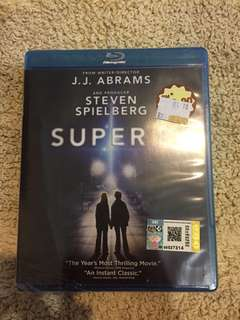 Super 8 Original Blu ray disc