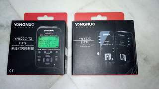 YONGNUO YN622C-TX Wireless Flash Controller & YN-622C 2 Transceivers Kit