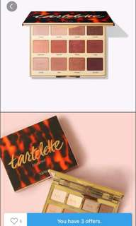 Tarte Eyeshadow palette 🎨 Toasted