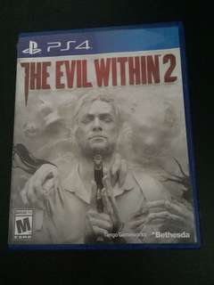PS4 The Evil Within 2 (Used)