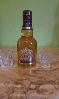 20CL miniature Chivas regal
