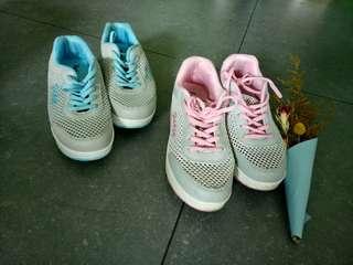 🚚 氣墊內增高運動鞋兩色/搖搖鞋