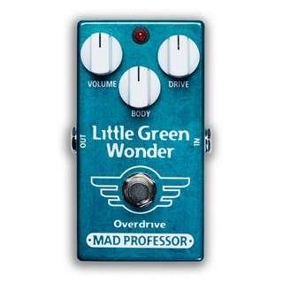 MadProfessor Little Green Wonder Overdrive Effect Pedal