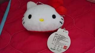 🚚 Hello Kitty雙胞胎頭型零錢包