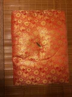 日本鎌倉金紅錦銹座布団