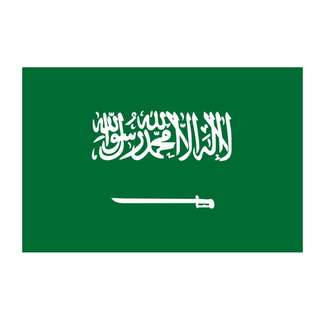 Saudi Arabia Flag (3x5ft)