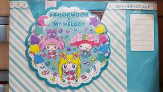 🚚 Sailormoon x My Melody lucky draw lottery kuji - paper box