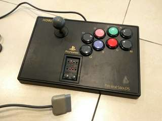 Hori HPS-07 Fighting Stick for Sony Playstation One PS1!