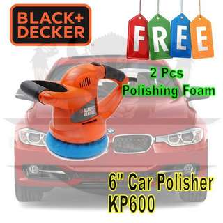 🚚 [NEW] BLACK AND DECKER KP600 RANDOM ORBITAL SANDER / CAR POLISHER / WAXER