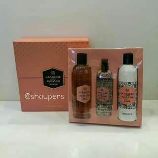 Japanese Cherry Blossom Gift Set Deluxe The Body Shop