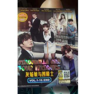 ORIGINAL Cinderalla and The Four Knights - Korean Drama
