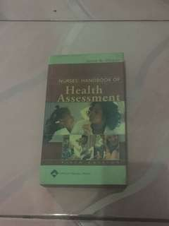 Nurse's Handbook of Health Assessment