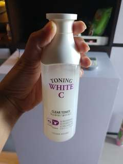 Etude House Toning white C clear toner