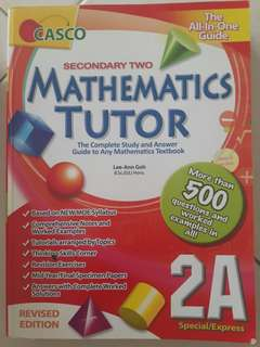 Sec 2 Maths Guide and Assessment