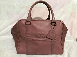Mulberry 蛇皮 手提袋 旅行袋