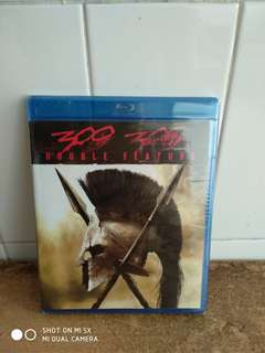 Double Feature - 300 & 300 - Rise of an Empire - Blu Ray - US import (original) - Brand New
