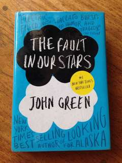 The Fault in Our Stars by John Green - Hardbound