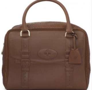 Mulberry 全新 蛇皮 手提袋 旅行袋