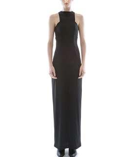 Collate Empire Waist Maxi Dress (Size S)
