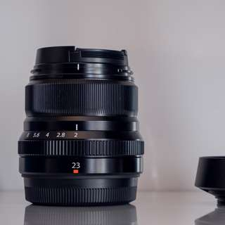 Fujifilm 23mm f2 weather resistant